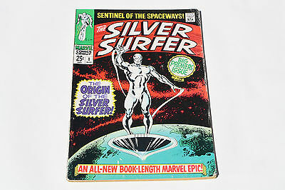 Silver Surfer # 1::1968:::midgrade 4.0::key Hot Issue