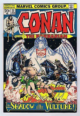Conan The Barbarian #22 VF OWP complete 1973 1st Print Marvel Comics PWC