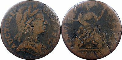 1785 Connecticut Copper, Miller 3.1-A.3, first year of issue, Fine, NO RESERVE