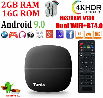 MXQ PRO 4K 3D Smart TV Box Quad Core Android 7.1 1+8GB WIFI Affordable Media USA
