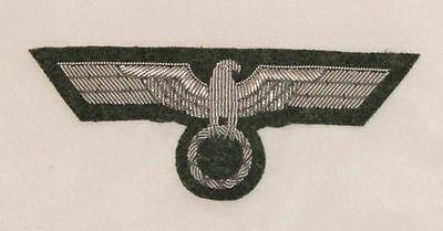 WW2 German Army officer's Breast eagle on field gray
