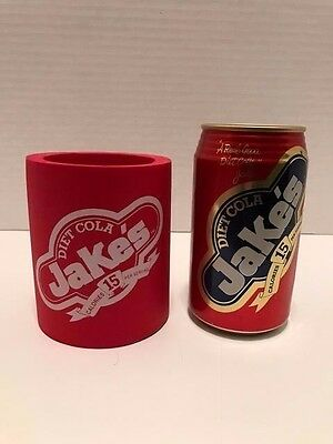 Jake's Diet Cola Can and Koozie
