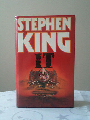 IT by Stephen King (Hardback, 1986) UK First Edition 1st/1st Excellent Condition