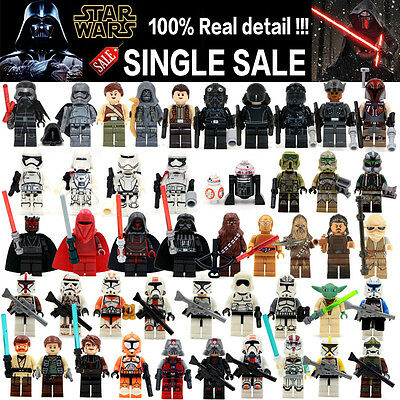 Star Wars Minifigure Starwars Force Awakens Kylo Ren BB8 Mini Figure Fits Lego ®