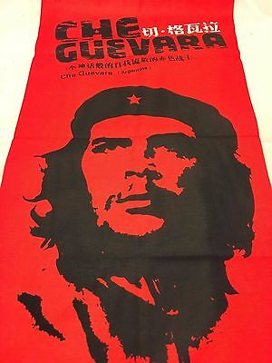 Multifunction head wrap neck tube scarf mask hat RED CHE GUEVARA cycle hike ski