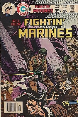 Fightin' Marines #133 Charlton 1977 Fn 6.0