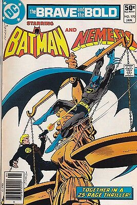 Brave And The Bold  #170 Dc 1981 Batman & Nemesis! Fn 6.0