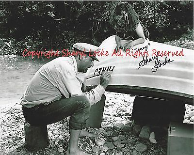 """Father Goose """"sharyl Locke"""" Autographed  Boat Scene 8 X 10 Photo 1St Ever!!"""