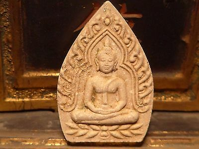 Interesting Siamese Thailand Buddha Temple Mystical Pendant