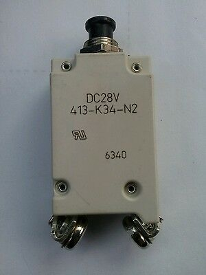 Circuit Breaker 45amp 28VDC Part #413-K34-N2