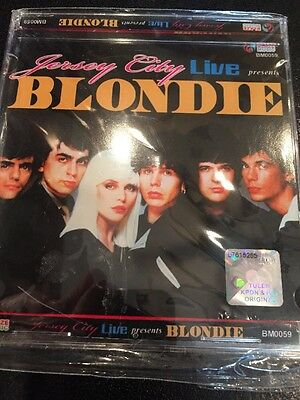 Blondie Live NIP Cd Heart Of Glass Hologram Original Recording Dreaming Debbie