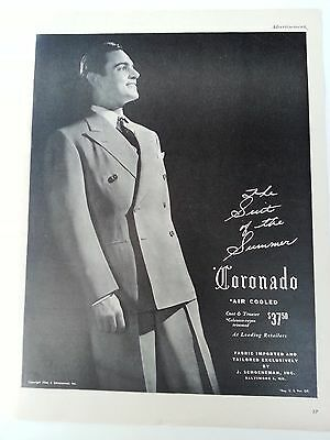World War Ii Mens Fashions Advertisement