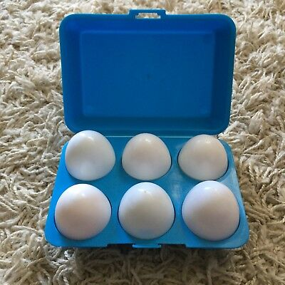 Vintage egg shape sorter complete set baby toy