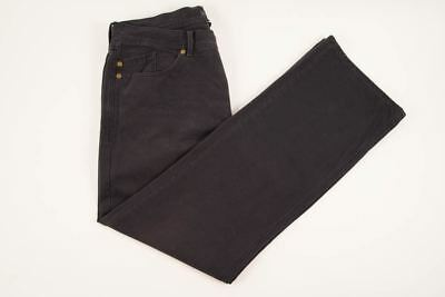 BANANA REPUBLIC Blue Flat Front Straight Fit Twill Cotton Casual Pants 34X30