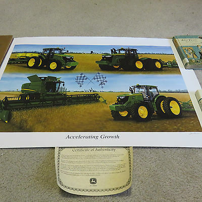 """Limited Edition 2011 John Deere """"Accelerating Growth"""" Print #3991"""