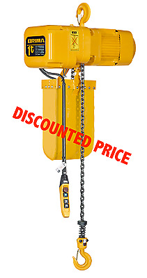 Electric Chain Hoist 2T Single Speed ***discounted Price***