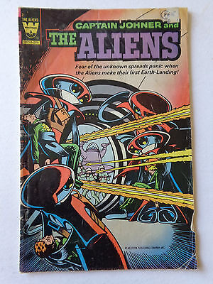 Whitman Comics CAPTAIN JOHNER and the ALIENS #2
