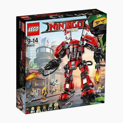 NEW THE LEGO NINJAGO Movie™ Fire Mech 70615