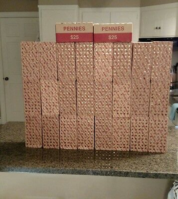 10 boxes of 2017 p lincoln pennies