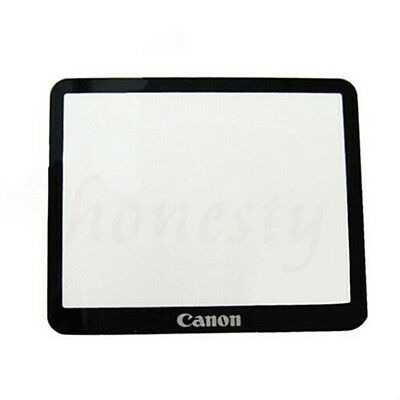 1pc LCD External Screen Protective Glass With Tape for Camera Canon 5DII 5D2