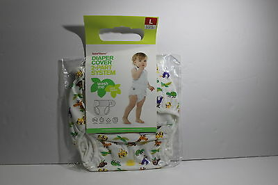 NEW ImseVimse Imse Vimse Cloth Diaper Cover 2 Part System Size L 20-26 lbs Zoo