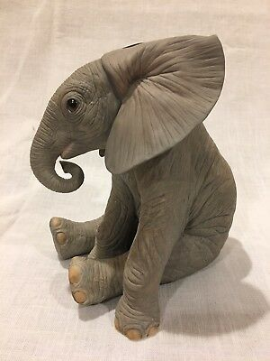 Lenox Endangered Baby Animals Collection Baby Elephant Porcelain Figurine