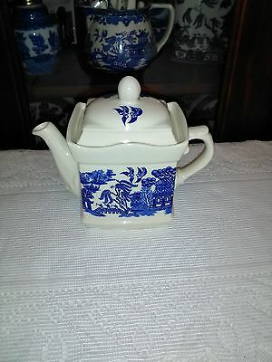 Blue Willow Tea Pot