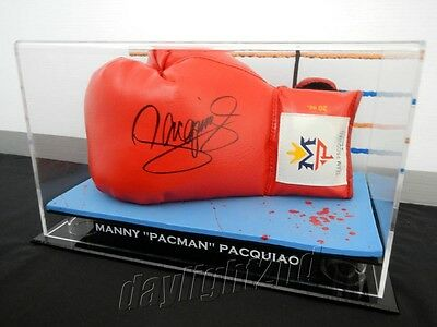 """✺Signed✺ MANNY """"PACMAN"""" PACQUIAO Boxing Glove PROOF COA UFC MMA Floyd Mayweather"""