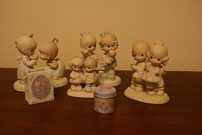 Precious Moments Lot of 6 Friends Figurines