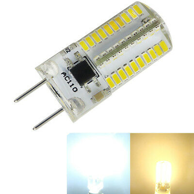 GY6.35(GX6.35) LED Bulb Dimmable 4W 80-3014 SMD Silicone Light Equivalent 35~40W