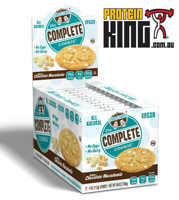LENNY & LARRYS THE COMPLETE COOKIE 12 x 113G WHITE CHOC MACADAMIA LARRY COOKIES