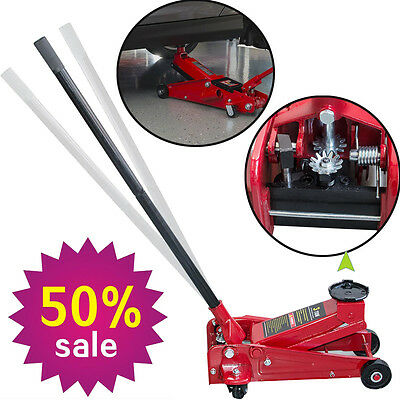 3 Ton 6000 Lb Portable Handle Car Auto Floor Jack Low Profile Rapid Pump Lift