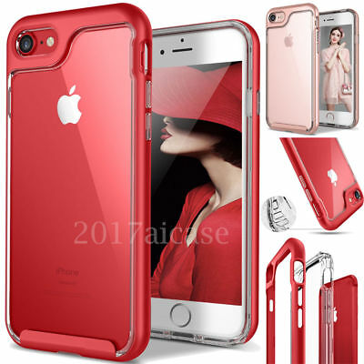 Full Body Protective 360° Shockproof Case Hard Slim Cover iPhone X 6 6s 8 7 Plus