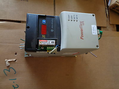 Allen Bradley Powerflex 40P Ac Drive Cat 22D-D2P3N104 W/22Rf012-Bs 1-Hp Series A