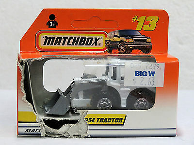 MATCHBOX MB13 Diecast Machine SHOVEL NOSE TRACTOR 1998  New in Opened Box 33414
