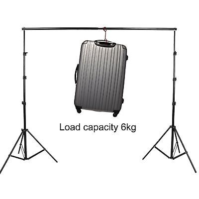 10Ft Adjustable Background Support Stand Photo Video Backdrop Kit Photography A