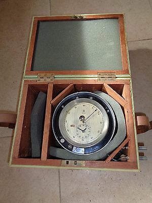 Extremely Rare Mercer Centre Seconds Surveying Marine Chronometer