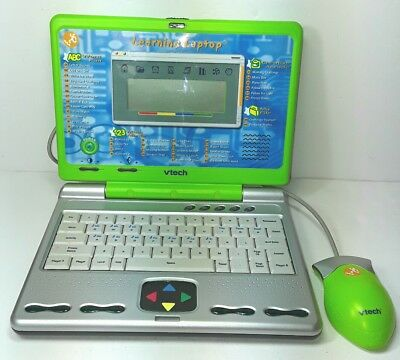 VTech Learning Laptop toy computer Childrens Kids V Tech Lap Top Game Green