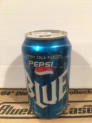Pepsi cola  Blue berry fusion Can