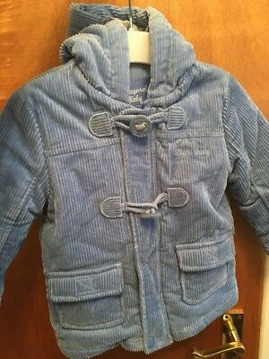 Baby Boys Blue Ribbed Jacket 12 Months Mayoral Baby