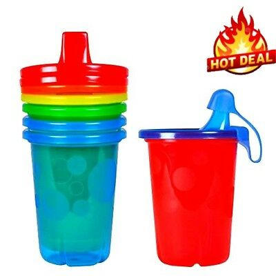 The First Years Take and amp Toss Spill-Proof Sippy Cups, Baby Training,10 Oz,