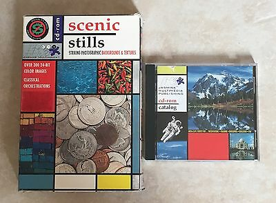Scenic Stills CD ROM CATALOG - Striking Photographic Backgrounds and Textures