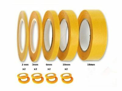 Precision Model Masking Tape Fine Line DIY 1 2 3 6 10 mm x 18m - Acid Free