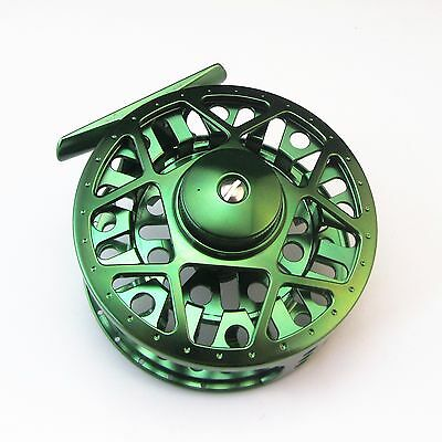 Cnc Machined Aluminum Fly Reel Lake Trout Fishing 5/6 85Mm Diameter Large Arbor