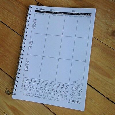 My Diet Diary - food log, diet tracking notebook, weight loss diary