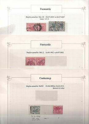 WA Swans - Stamps with Special Postmarks - Pre-Decimal in excellent condition