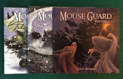 Mouse Guard Winter: 1152 1 2 3 4 5 6 Set 1-6 First Print