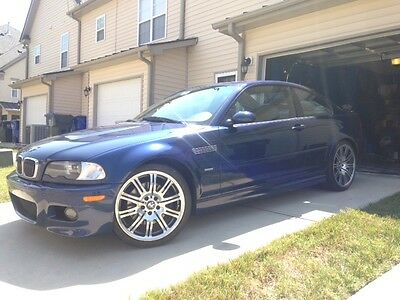 2005 BMW M3 Coupe 2005 M3 TRUE 6 SPEED MANUAL COUPE 88K MYSTIC BLUE EXCELLENT CONDITION