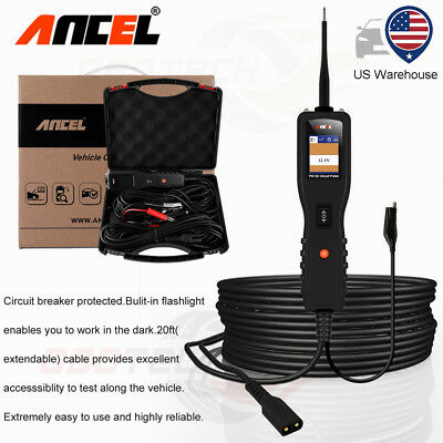 12V 24V Car Circuit Tester ANCEL PB100 Truck Electrical Power Scan Tool AVOmeter