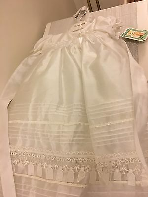 Couche Tot Ivory Christening Dress 3-6 Months *New with Tags*